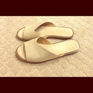 Franco Sarto metallic sandals